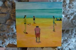 beach games -50x50cms
