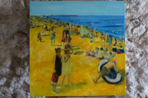 narbonne plage - 50x50 cms