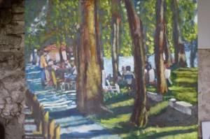 grand picnic -50 x 50 cms