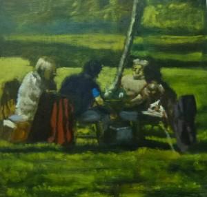 picnic delux -35 x 35 cms