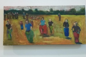 sack race, sports day -40 x 15 cms approx