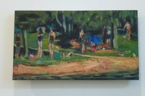 the lake -40 x 15 cms approx